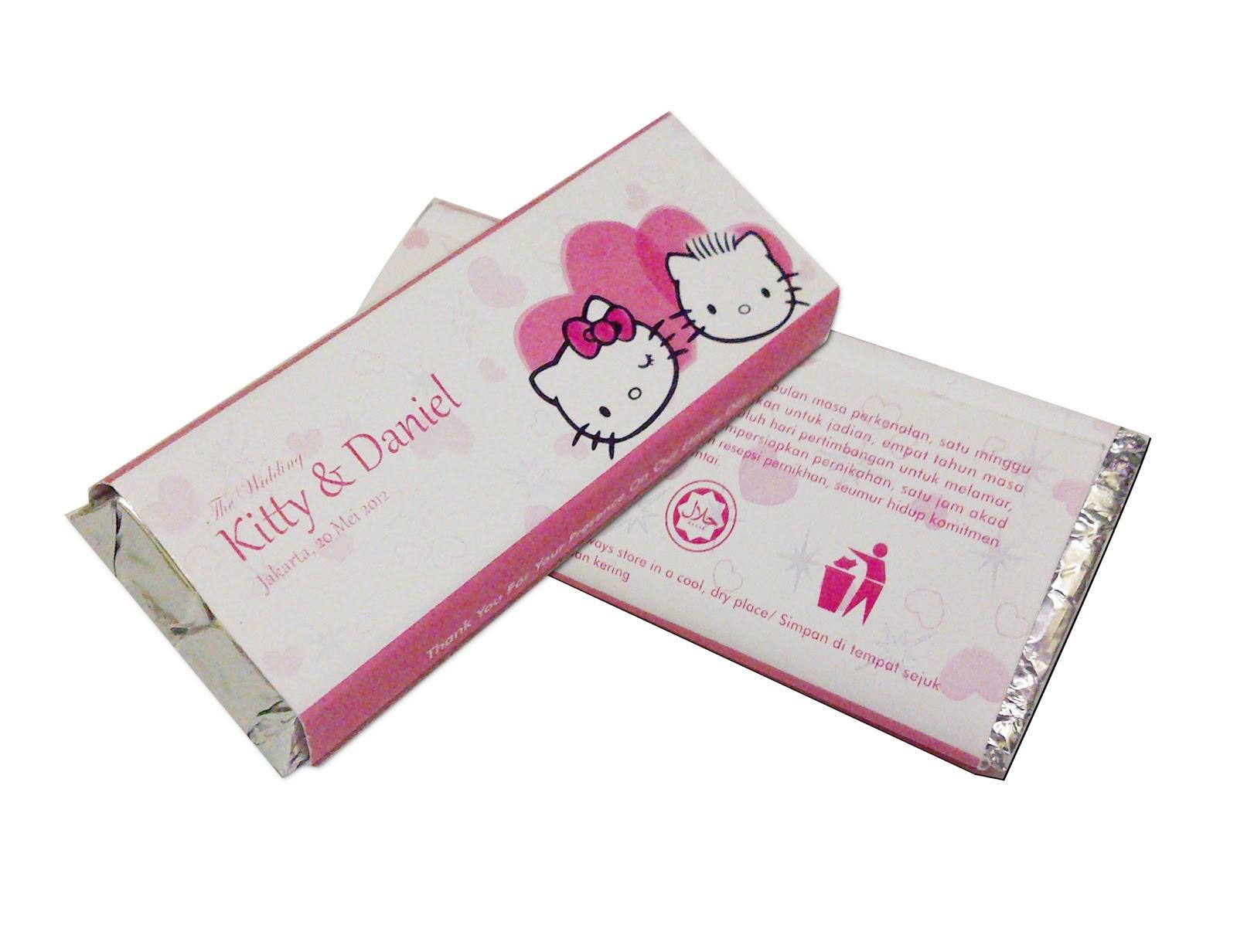 Coklat Wedding Souvenir Hello Kitty Daniel Birthdaykuu Toko