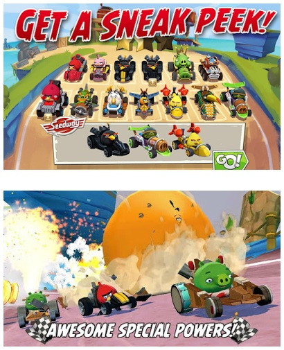 Angry Birds Go! V2.0.30 (Mod Unlimited Money)