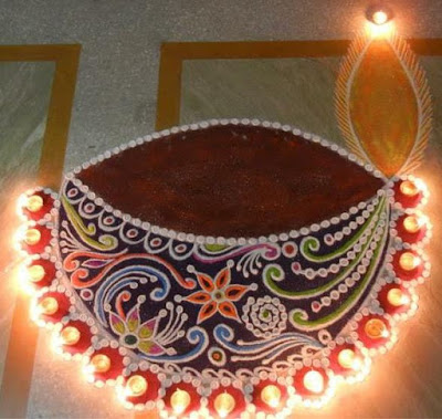 Rangoli Border Dia Designs
