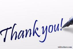 Kumpulan Pantun Ucapan Terima Kasih yang menyentuh hati terfavorit