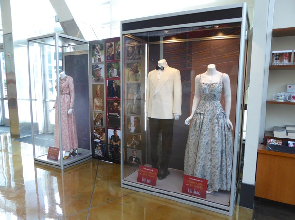 Trumbo movie costume display