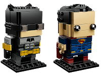 batman superman Lego BrickHeadz