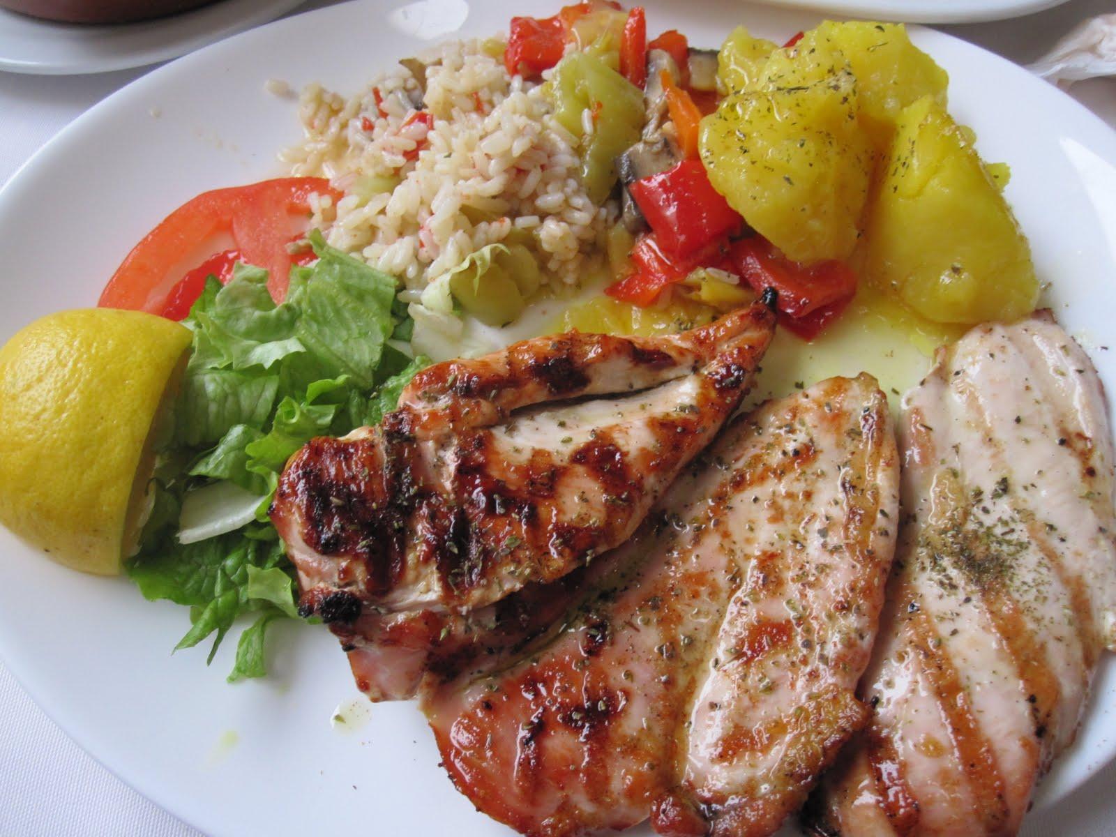 Vasilis Greek Restaurant Menu