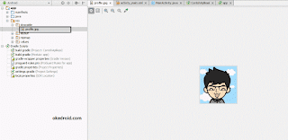 Contoh gambar di drawable android studio