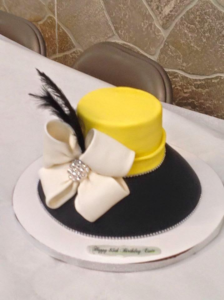 Cakesby Zana Church Lady Hat Cake