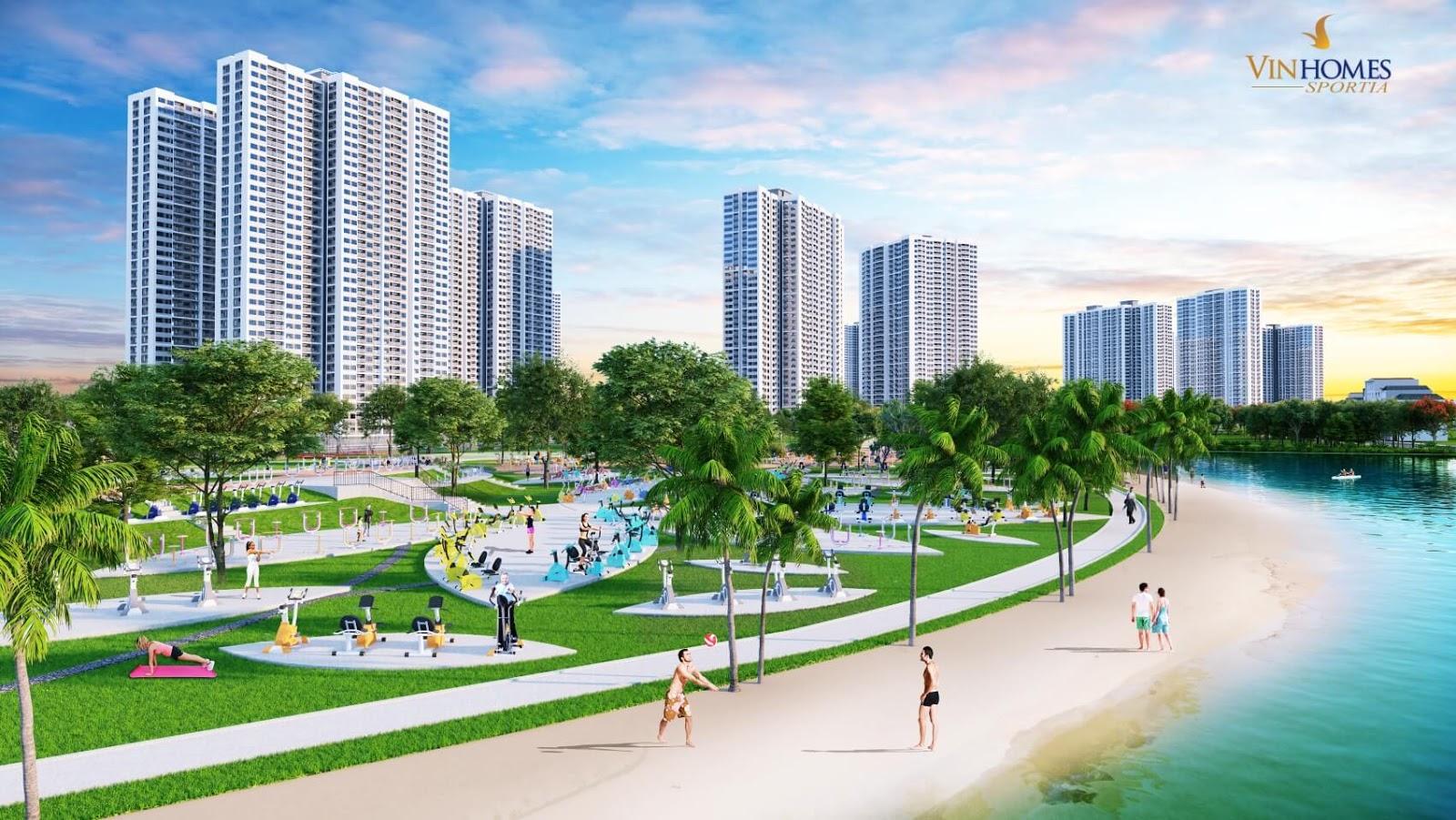 Vinhomes Sportia Tây Mỗ - Đô thị đẳng cấp Singapore
