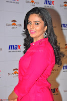 Sree Mukhi in Pink Kurti looks beautiful at Meet and Greet Session at Max Store (38).JPG