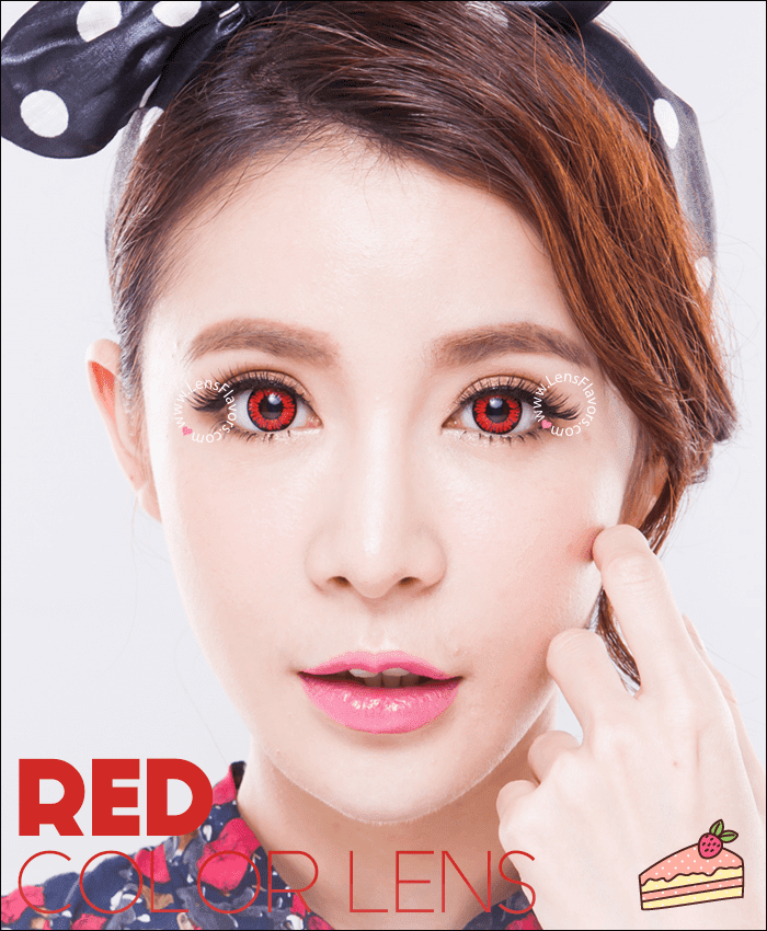 geo aimation sf20 red colored contacts