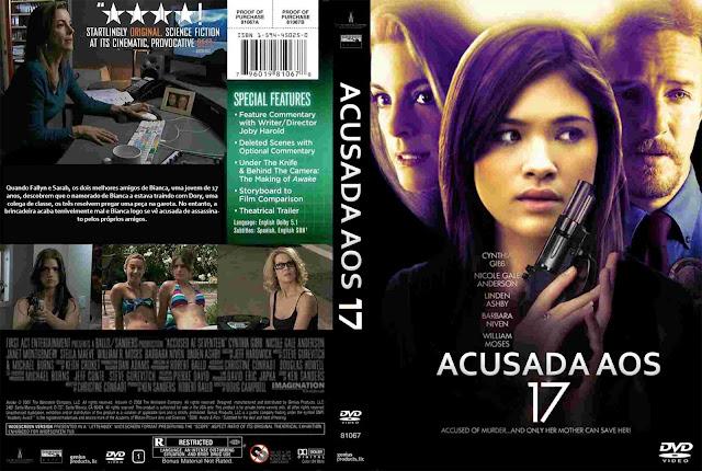 Capa DVD Acusada Aos 17