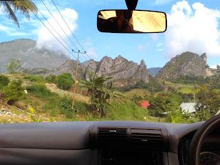 Pemandangan Tebing Enrekang Sulawesi Selatan