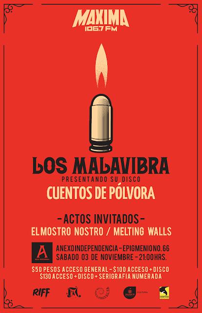 """Los Malavibra  """"Cuentos de Pólvora"""""""