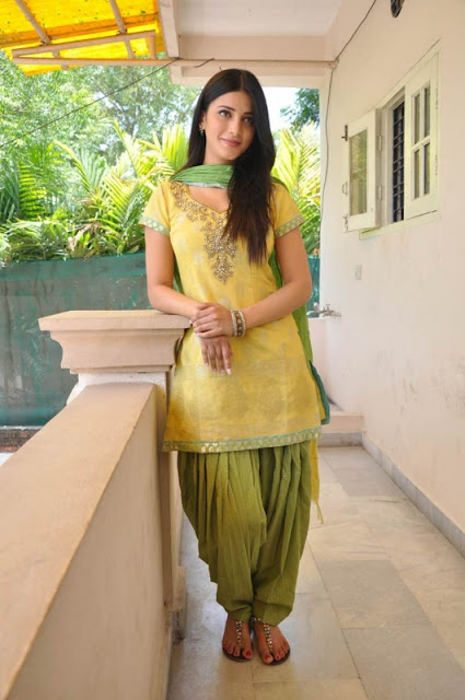 Shruti Haasan in beautiful  Punjabi Suit 2017