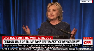 Clinton Expresses Regret For Saying 'Half' Of Trump Supporters Are 'Deplorables'.
