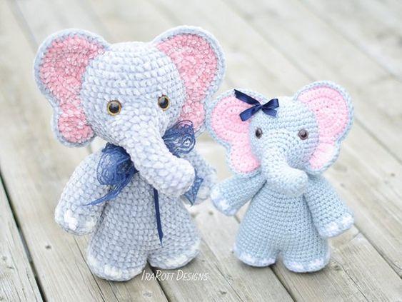 Amigurumi Elefante - Ideias e tutoriais | 423x563