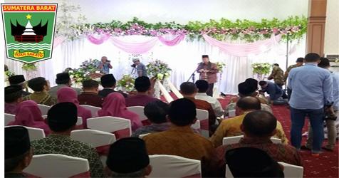 Wagub Nasrul Abit : Pernikahan Ini Merupakan Sebuah Harapan Dan Doa