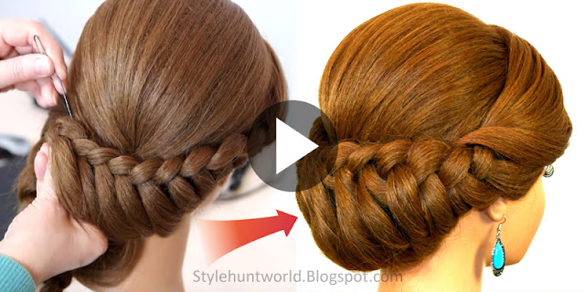Learn - How To Make Bride Back Bun Hairstyle, See Tutorial