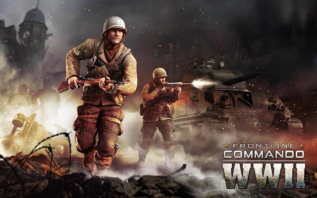 تحميل لعبة الحرب FRONTLINE COMMANDO WW2 v1.1.0 مهكرة للاندرويد