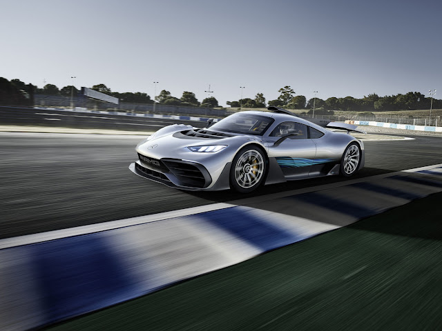 2017 Frankfurt Motor Show Mercedes-AMG Project ONE