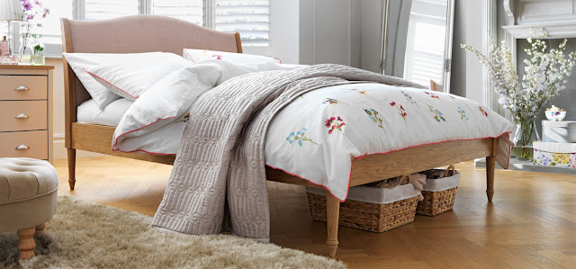 Petunia floral double bedding set