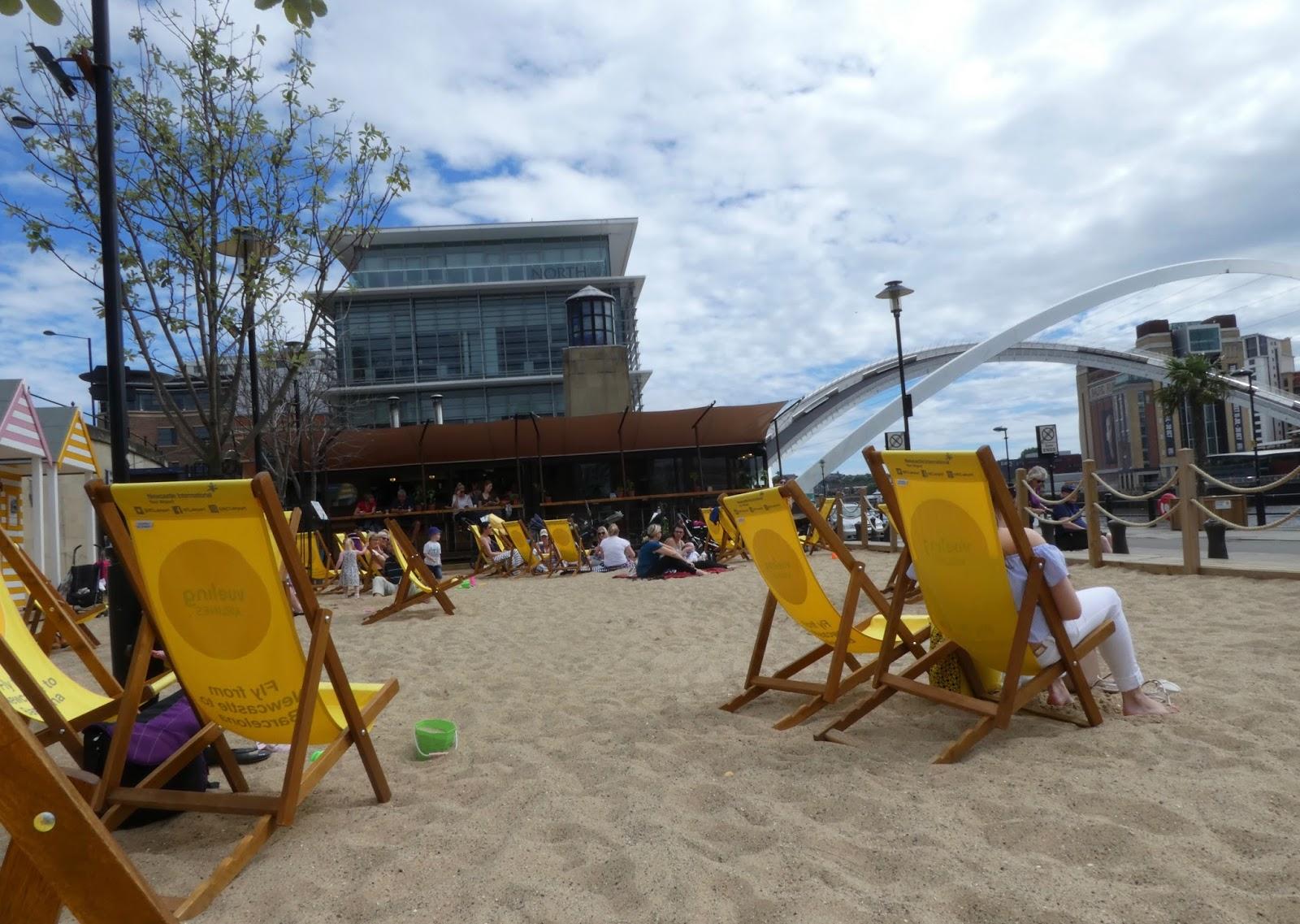 Newcastle Quayside Seaside