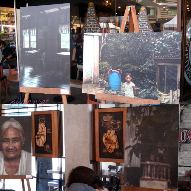 Pictures by photographer advocate Artu Nepomuceno displayed in the store.