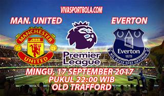 Prediksi Manchester United vs Everton 17 September 2017