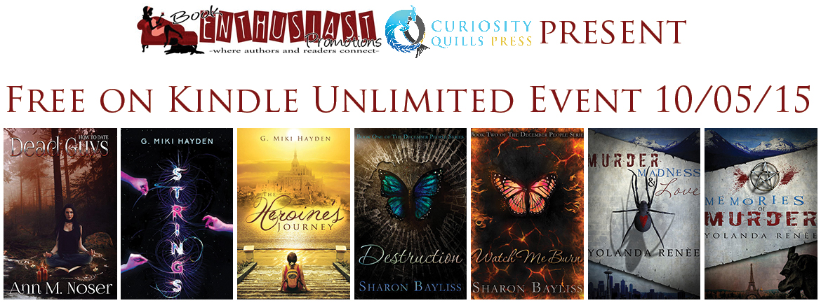 Sharon Bayliss: Kindle Unlimited Event #giveaway #freebooks