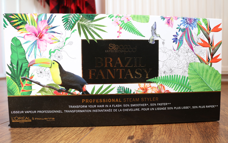 L'Oreal Steampod 2.0 review (Brazil Fantasy Limited Edition)