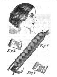 Godey's 1859 hair crimper
