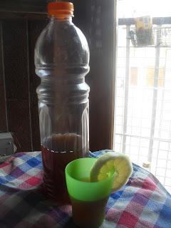 tè freddo senza zucchero fatto in casa