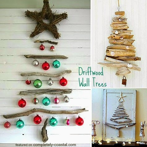 driftwood wall tree