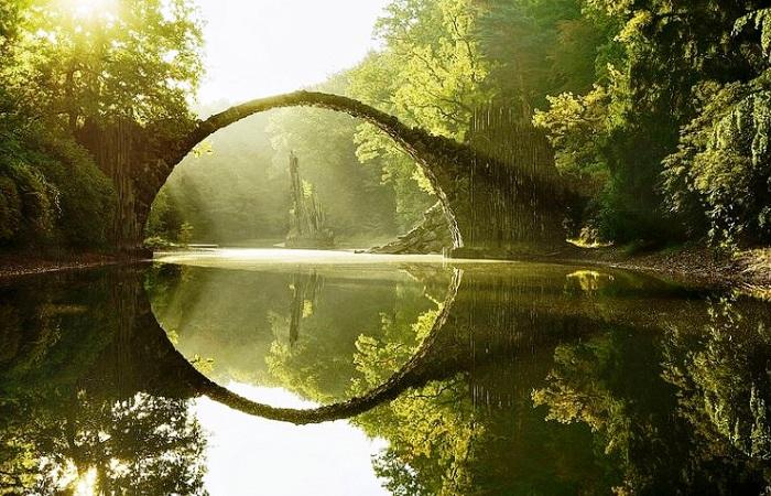 The Rakotzbrücke, Germany - The Devil's Bridge
