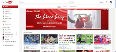 YouTube pe Click Karna