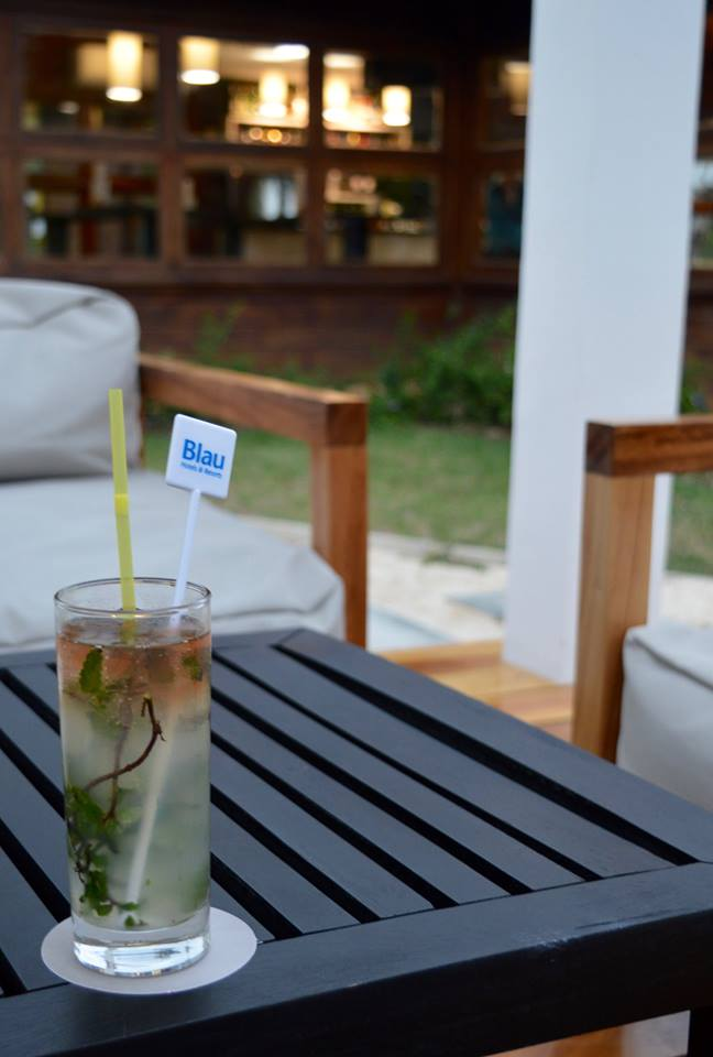 The all inclusive Cocktail menu at Blau Varadero, Cuba - mojito