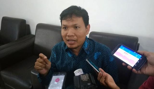 Arif Nur Cahyono dari Tim Koordinasi dan Supervisi Pencegahan Korupsi Bidang Pencegahan KPK