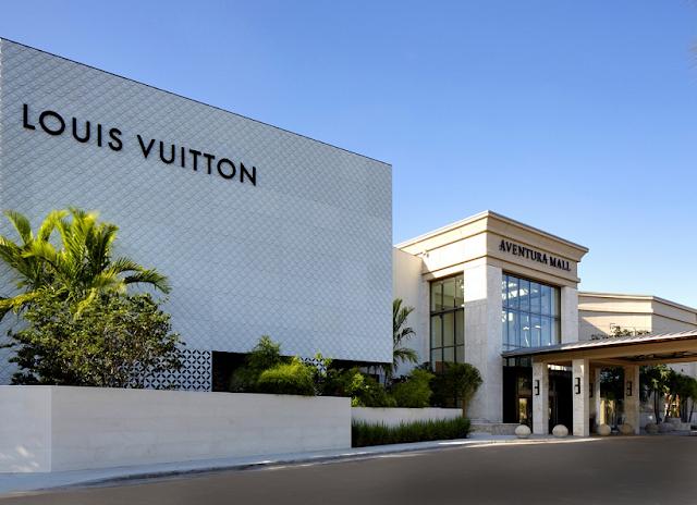 Tiendas de ropa de lujo en Miami: Louis Vuitton