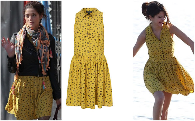 """Image result for selena gomez in The shirt dress"""""""