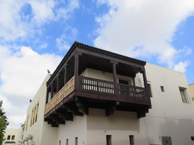 Balcón en Meknes