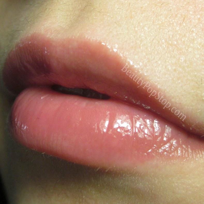 tarte cosmetics lipsurgence lip gloss flush swatch