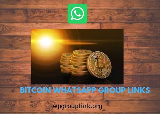 gruppo whatsapp commercio bitcoin