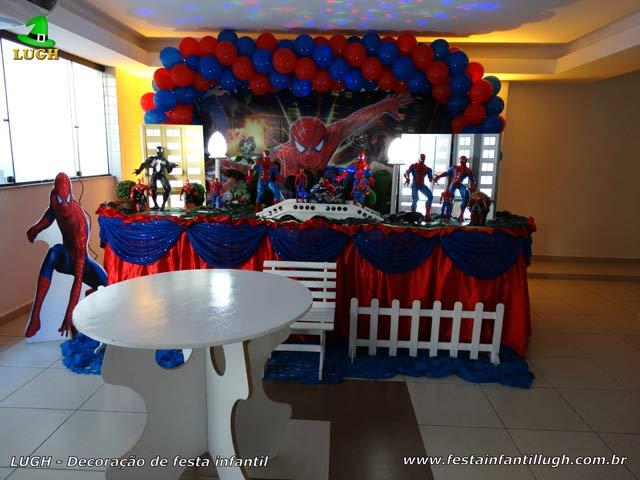 Homem Aranha - Decoração para festa de aniversário infantil - Barra RJ