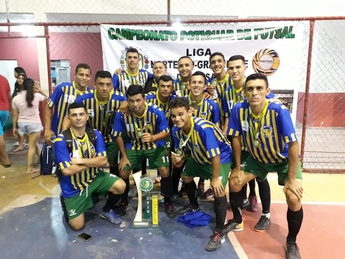 Campeonato Potiguar de Futsal tem início neste sábado, ADESPP estréia dia (25); confira os grupos