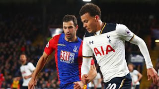 Video Gol Crystal Palace vs Tottenham Hotspur 0-1