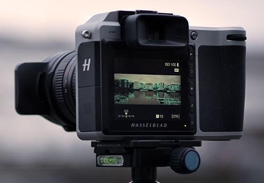 Пример использования объектива XPan на камере Hasselblad X1D