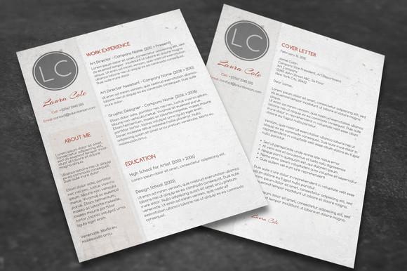 Ücretsiz CV tasarımı Photoshop