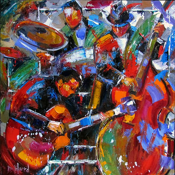Debra Hurd Original Paintings And Jazz Art