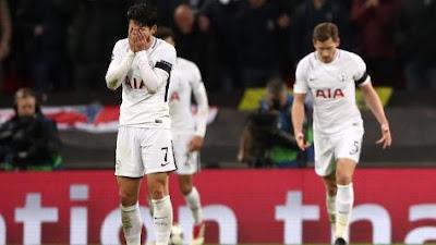Highlight Tottenham 1-2 Juventus, 8 Maret 2018