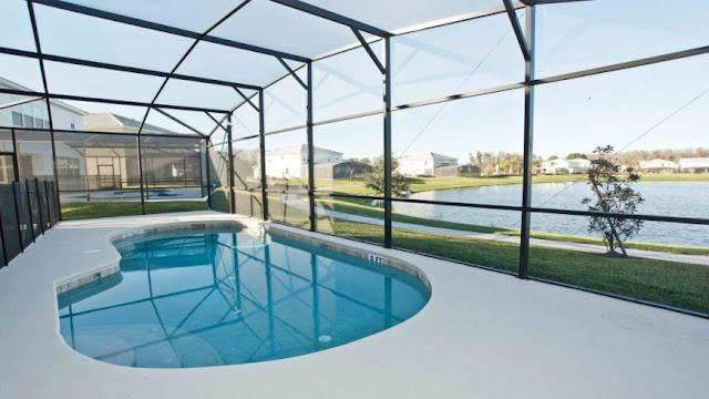 Casas para alugar em Orlando do Grupo Dicas - Piscina da Casa