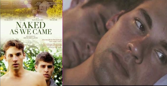 Naked as we came, película
