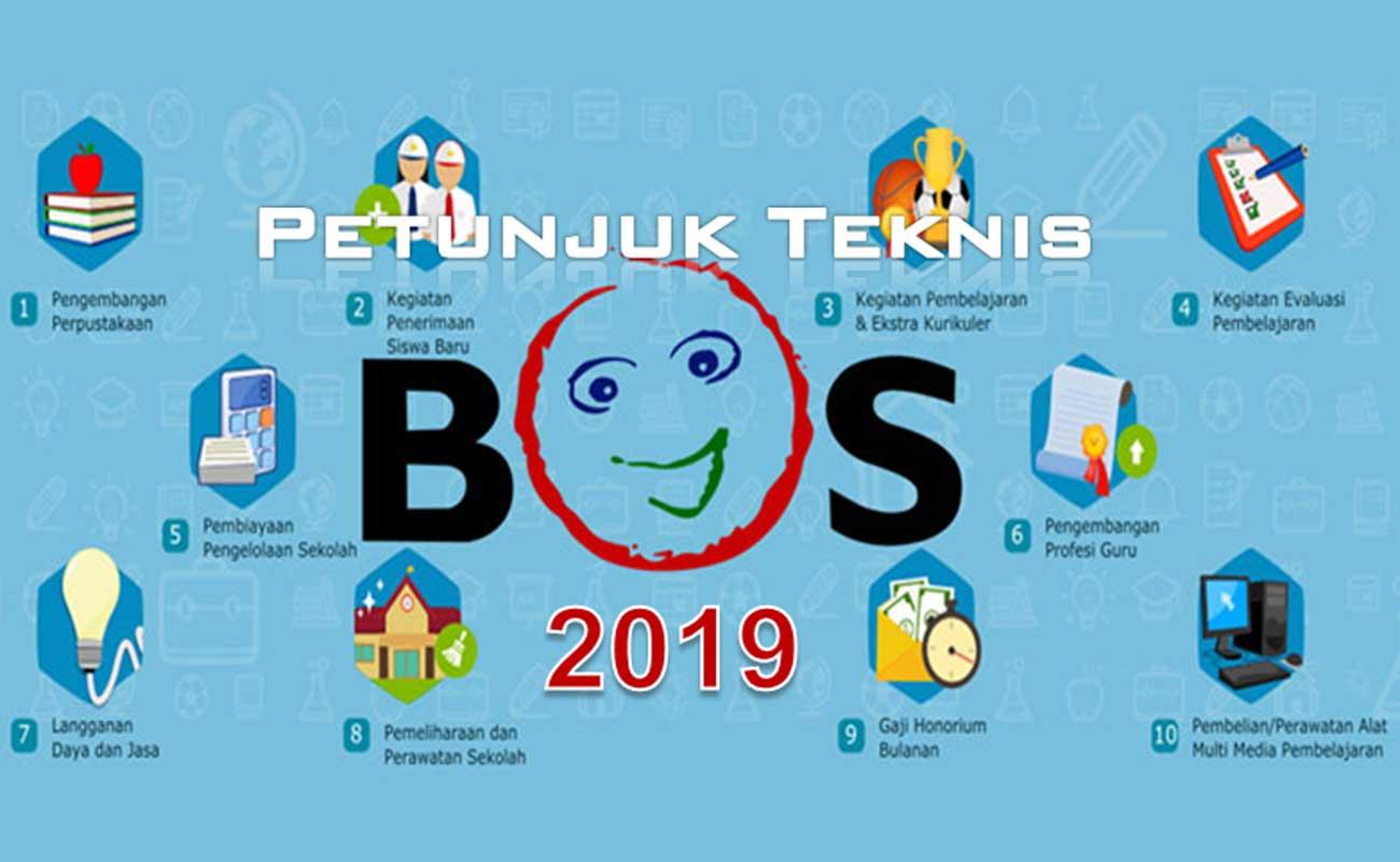 Download Juknis BOS Revisi 2019 Terbaru Untuk SD SMP SMA SMK